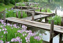 Poole pond bridge