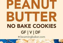 Vegan Cookies / Follow for all types of vegan cookies, including chocolate chip cookies, chocolate cookies, and peanut butter cookies. http://themostlyhealthy.com