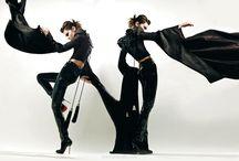 La vie en BLACK / Black, fashion, fashion photography, black outfits, black dresses, black lingerie
