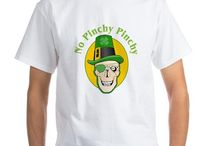 St Patrick's Day T-Shirts / Fun T-Shirts to wear for St Patrick's day from TheTshirtPainter. http://www.cafepress.com/profile/thetshirtpainter / by The Tshirt Painter