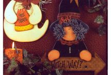 Halloween and Thanksgiving decor / by Sally Kauffman