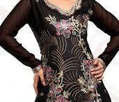 Kurti Style. / Be the icon in a simple style with these absolutely 'too good ones' (y) :)
