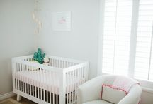 Sammy's Light and Bright Nursery / A light and bright nursery for my little girl.