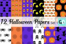 HALLOWEEN Clipart / Lots of cute Halloween clipart. These vector graphics are perfect for scrapbooking, crafts and teacher products.