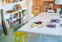 Kids learning area ideas