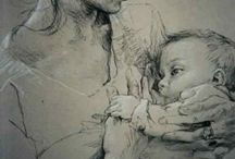 Artistic Breastfeeding / Welcome to the Artistic Breastfeeding Board. Breastfeeding itself is a normal act, but it's also very beautiful and artistic and this board portrays all of this and more. If you'd like to see something else included, please email me at: galactablog@gmail.com and I'm happy to include it.