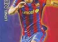 Lionel Messi Trading Cards / All about different trading cards of Lionel Messi over the years playing for both Barcelona and Argentina.