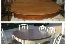 Furniture refurbushments