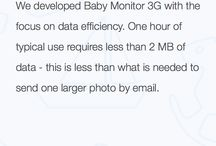 FAQs / Answers to frequently asked questions about Baby Monitor 3G.