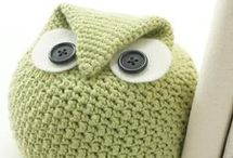 Crochet inspiration/knitting