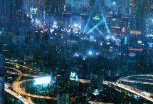 Sci-Fi Cities