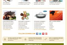 Cooking Website Design Inspiration