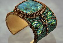 Bead Embroidery / A beading form I've not yet tried but I plan soon. / by Renee Szoyka Whitaker