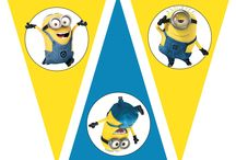 Party ideas ( Minions )