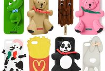 Moschino iPhone & iPad Case Collection / Designer Jeremy Scott has released a plethora of technology accessories emblazoned with familiar food iconography and cartoon inspired images.