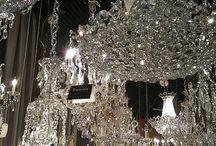 kryształy wiszące