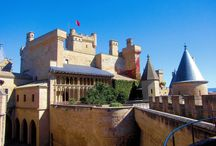 Navarra. Palacio Castillo de Olite. / Photo Travel History Art Architecture Fotografía Viajes Historia Arte Arquitectura