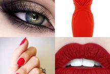 Red colours / Czerwone odcienie Cosmetics Zone / https://www.lakieryhybrydowe.pl/