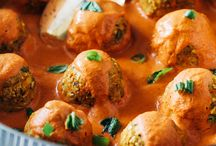 chickpea curry meatballs