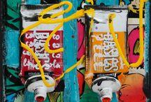 Pop Art / Sélection d'oeuvres uniques Carré d'Artistes® de style Pop Art.