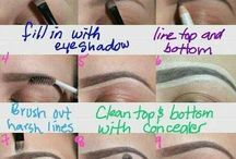 Beautiful Brows & Smokey Eyes / Groomed brows create a Beautiful Framework for the Face & for Smokey Eyes.