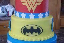 Superhero Girl Cake