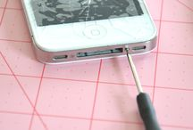 Just in case this tragedy befalls me...how to fix a cracked iPhone..so glad I found this! everyone needs this