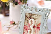 Table numbers / The many ways to indicated your table number at your next event.
