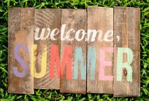 Celebrate: Summer / Summertime decor, eats and more