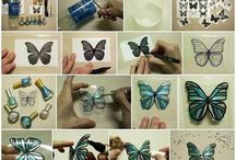 Butterflies craft activity