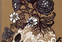 Skulls / My love for skulls / by Yolanda Tasco