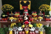 festa de 1 ano tema Mickey