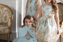 familia de vestidos