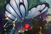 Butterfree / Butterfree (Japanese: バタフリー Butterfree) is a dual-type Bug/Flying Pokémon. Butterfree evolves from Metapod starting at level 10. It is the final form of Caterpie.