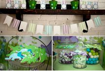Grant's Birthday / Dinosaur themed party ideas