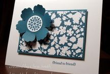 A paper cards - flowers / by Susan Harwell Hendrick