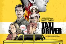 taxi driver movie illustration