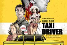 taxi driver movie illustration