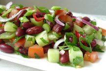 VOEDING 3 : Salades / Koude salades