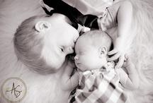 Newborn w/siblings / by Sara Lovro
