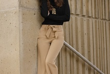 The Liberated Woman / Successful and stylish - the revitalization of the working woman's wardrobe comes with a strong 70's influence