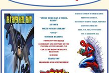 Super Hero Summer Reading Program 2015 / by Foley Public Library