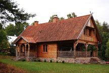 drewniane domowe