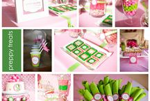 Pink & Green Party, Wedding, Baby & Bridal Shower, Birthday & Holiday Decor / by Pin4Ever - Pinterest Tools