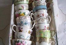 Vintage tea cups / Vintage tea cups