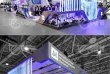 Exhibition stand / by studiomoko
