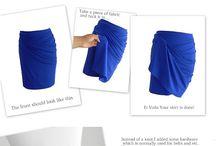 skirt drape