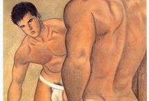 Gay erotic art