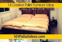 Wooden Pallet Furniture / Turn wooden pallets into cool looking furniture.