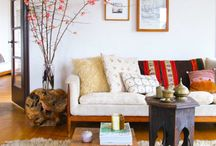 midcentury decor / clean rustic